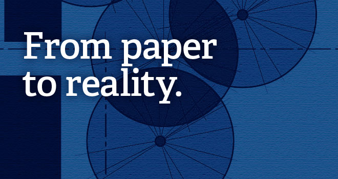 From paper to reality.